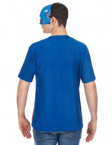 T-Shirt et masque adulte Captain America™ movie 2 -1
