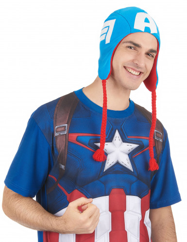 Bonnet Captain America™ adulte-1