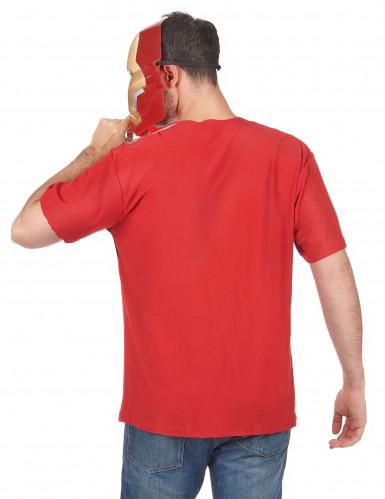 T-Shirt et masque adulte Iron Man movie 2™ adulte-1