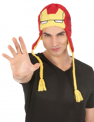 Bonnet adulte Iron Man™-1