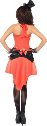 Déguisement danseuse saloon sexy rouge femme-2