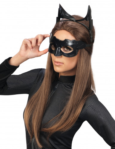 Masque luxe Catwoman™ The Dark Night rises™ adulte