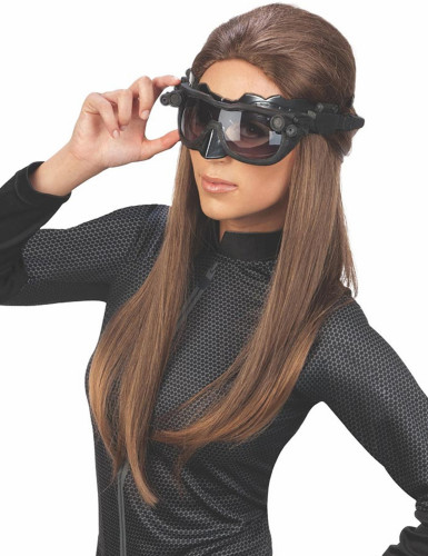 Masque luxe Catwoman™ The Dark Night rises™ adulte-1
