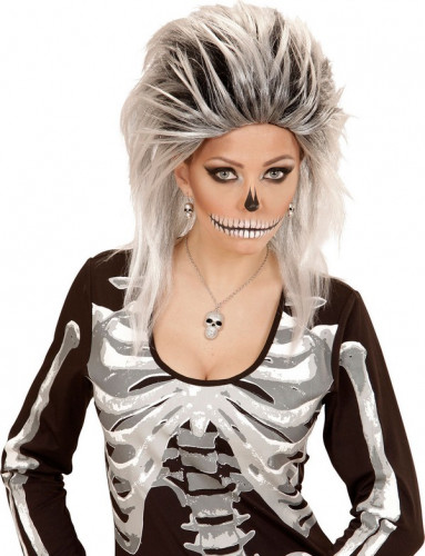 Bijoux crânes femme Halloween