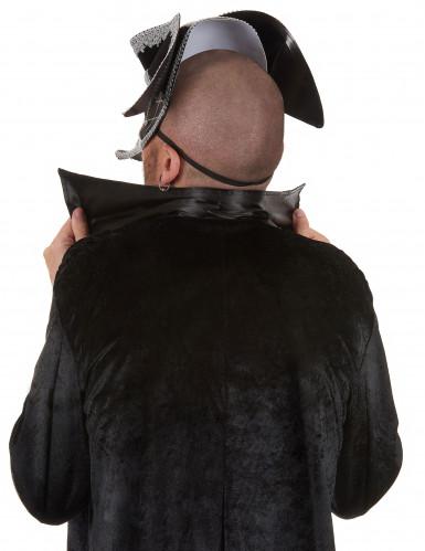 Masque vénitien avec tricorne adulte-1