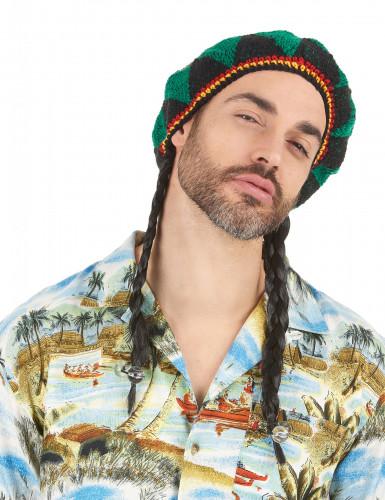 Perruque star du reggae homme