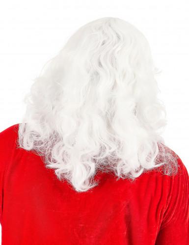 Perruque et barbe du père noël - 203g-1