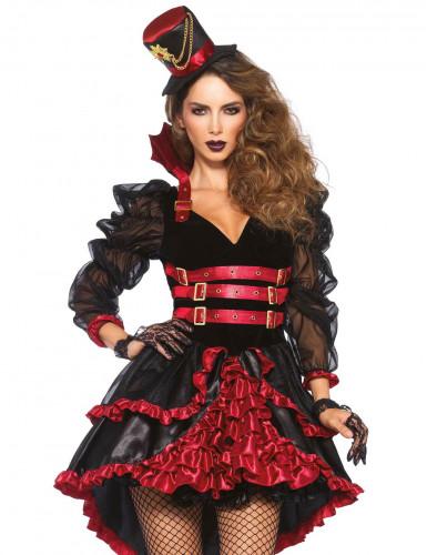 d guisement vampire victorienne femme steampunk deguise. Black Bedroom Furniture Sets. Home Design Ideas