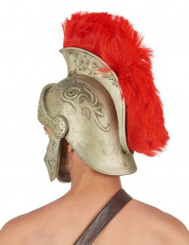 Casque latex guerrier Romain luxe adulte-1