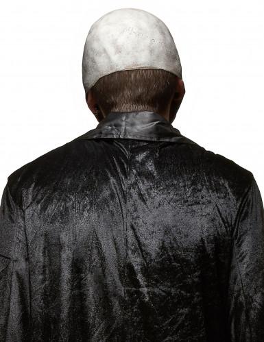 Masque latex crâne effrayant adulte Halloween-1