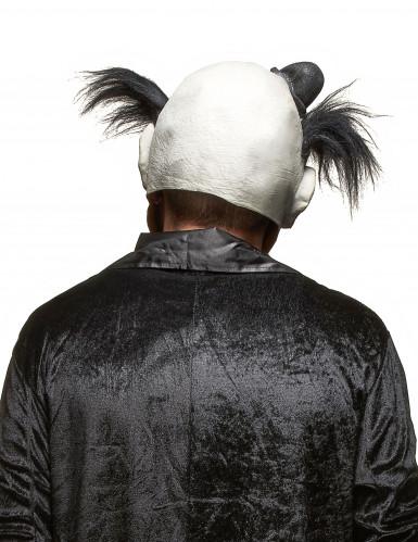Masque latex clown sanglant adulte Halloween-1