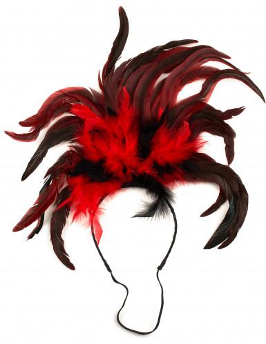 Serre-tête cabaret plumes adulte-1