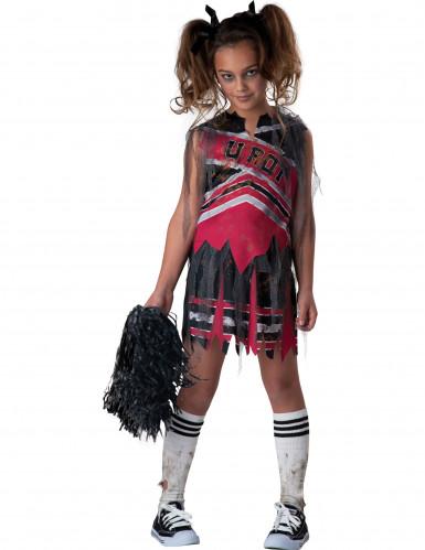 Déguisement Pompom Girl zombie pour fille - Premium