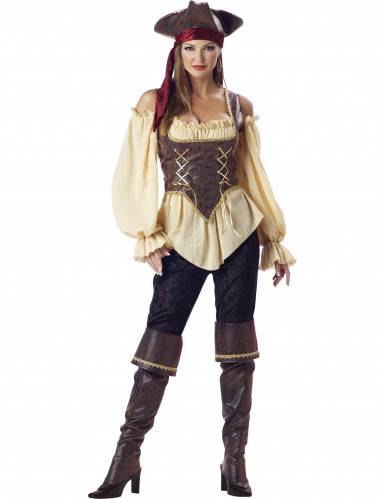 Déguisement Pirate pour femme - Premium