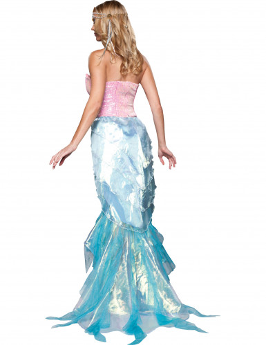 Déguisement Sirène à sequins pour femme - Premium-1