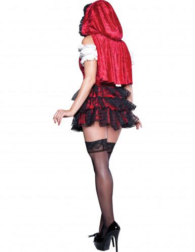 Déguisement Chaperon Rouge pour femme - Premium-1