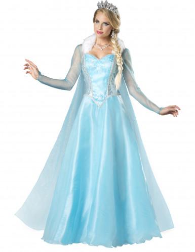 Déguisement Princesse des neiges pour femme - Premium
