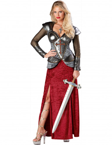 Déguisement Jeanne d'Arc pour femme - Premium