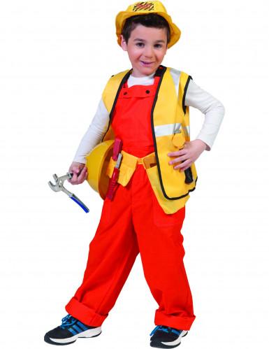 Déguisement petit chef de chantier garçon