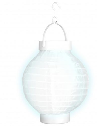 Lanterne lumineuse blanche 15 cm