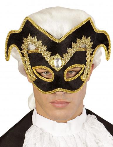 Demi masque vénitien adulte