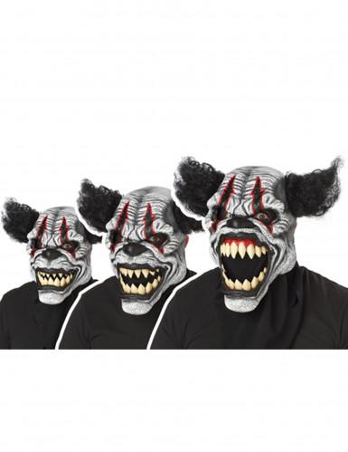 Déguisement Clown Effrayant avec masque adulte-1