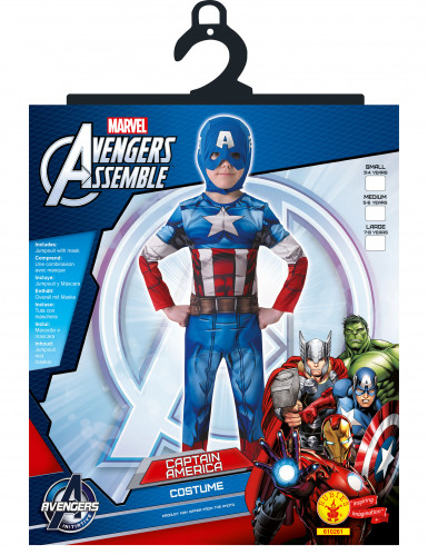 Déguisement classique Captain America™ enfant - Avengers™-1