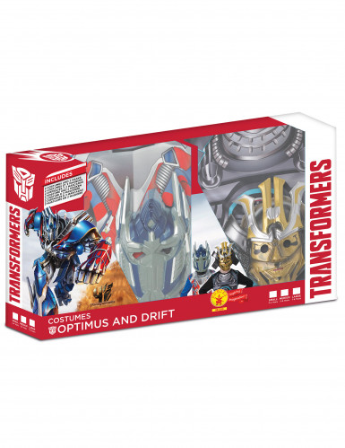 Coffret déguisements enfant Transformers™ - Optimus prime et Drift™-1