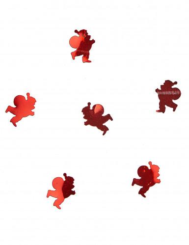 Confettis de table Père Noël rouge 10 gr