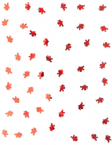 Confettis de table Père Noël rouge 10 gr-1