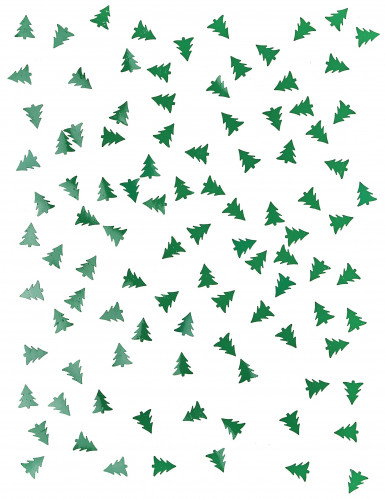 Confettis de table sapin de Noël 10 gr-1