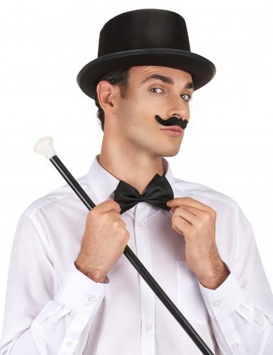 Chapeau haut de forme noir Adulte-1