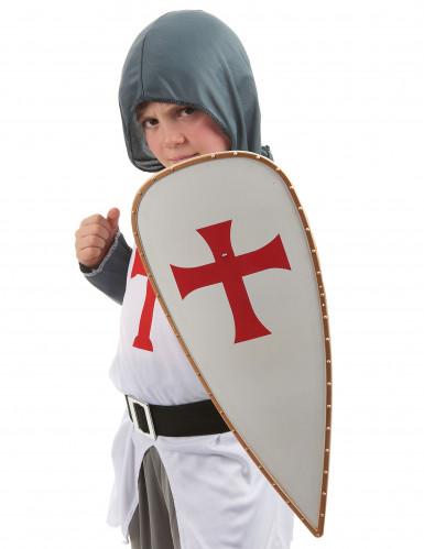 Bouclier chevalier croisé Enfant-2
