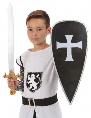 Kit chevalier croisé en plastique pour Enfant-1