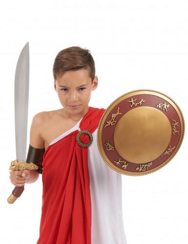Kit bouclier et épée gladiateur en plastique pour Enfant-1