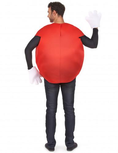 Déguisement bonbon rouge Adulte-2