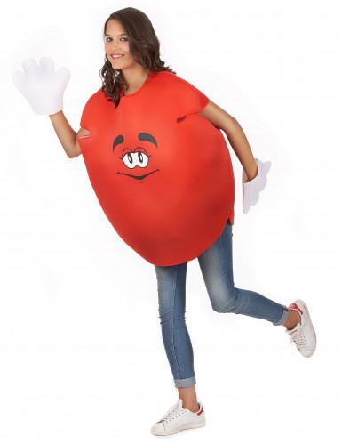 Déguisement bonbon rouge Adulte-4