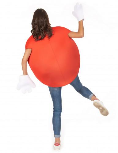 Déguisement bonbon rouge Adulte-5