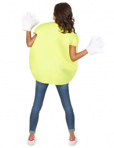 Déguisement bonbon jaune Adulte-5