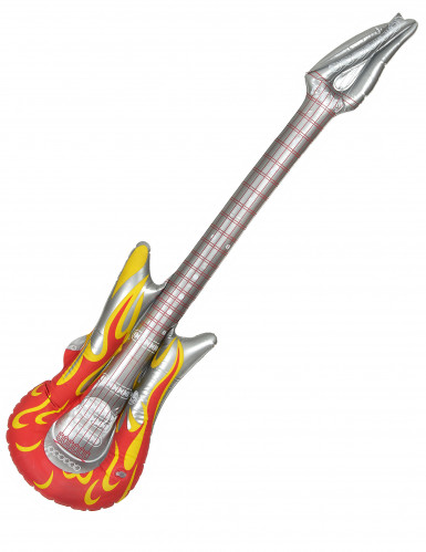 Guitare gonflable rock