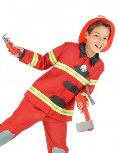 Set pompier en plastique pour enfant-1