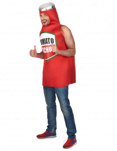 Déguisement ketchup Adulte-1