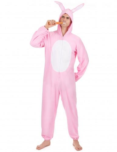 dernière sélection codes promo classique chic Déguisement lapin rose Homme