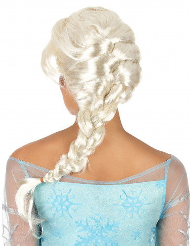 Perruque femme blonde avec tresse-1