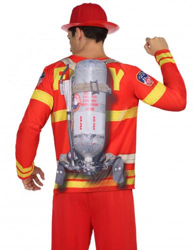 T-shirt pompier homme-1