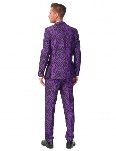 Costume Mr. Tiger violet homme Suitmeister™-1