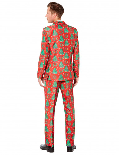Costume Mr. Sapin rouge homme Suitmeister™-1