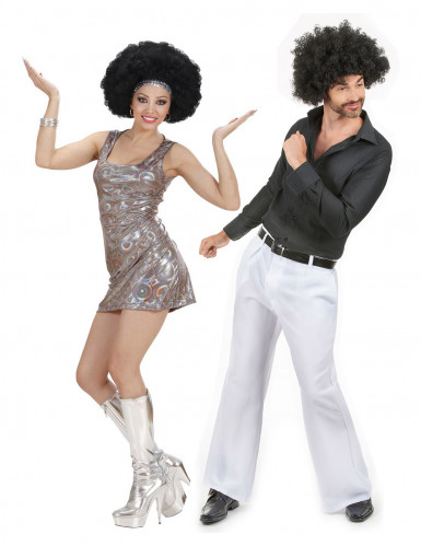Déguisement de couple disco adultes