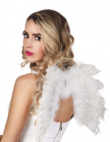 Ailes ange blanches 48 X 35 cm adulte