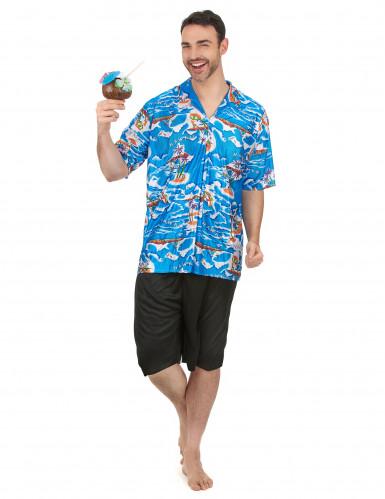 Déguisement touriste Hawaïen homme